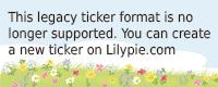 Lilypie 4ème anniversaire Ticker