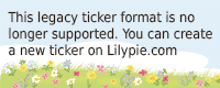 Lilypie 4th Birthday Ticker